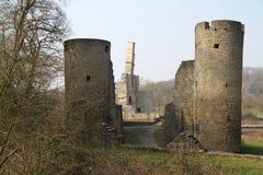 Slotten Hardenstein fördärvar Arkivfoton