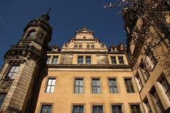 Slotten i Dresden arkivfoton