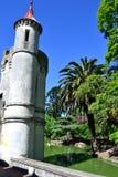 Slotten i Rodoen parkerar Arkivfoto