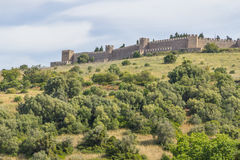 Slotten i Santiago gör Cacem Arkivbilder