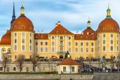 Slotten Moritzburg Royaltyfri Bild
