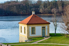 Slotten Moritzburg Arkivbild