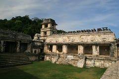 Slotten/Palenquen, Mexico Royaltyfri Fotografi