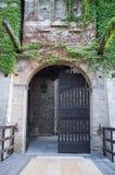 Slotten Pallotta i Caldarola, Italien Royaltyfri Fotografi