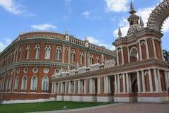 Slotten Tsaritsyno Royaltyfri Foto