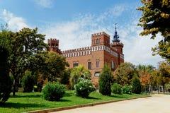 Slottet av de tre drakarna Arkivbild