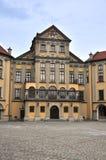 Slottet av Nesvizh, Vitryssland Royaltyfria Bilder