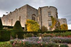 slottet chirk Royaltyfri Fotografi