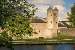 slottet enniskillen ståndsmässiga Fermanagh Nordligt - Irland royaltyfri fotografi