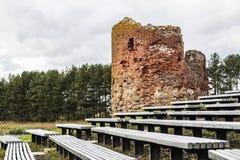 slottet fördärvar Royaltyfri Bild