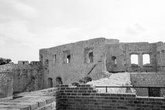 slottet fördärvar Fotografering för Bildbyråer