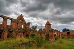slottet fördärvar Royaltyfri Foto
