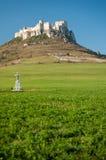 slottet fördärvar slovakia spis arkivfoton