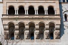 slottet fussen germany neuschwanstein Arkivfoto