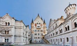 slottet fussen germany neuschwanstein royaltyfria bilder