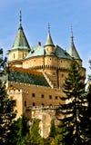 Slottet like från saga Fotografering för Bildbyråer