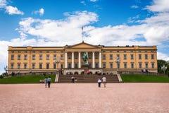 Slottet : Royal Palace à Oslo, Norvège photos libres de droits