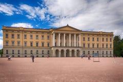 Slottet : Royal Palace à Oslo, Norvège Image stock