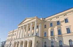 Slottet (Royal Palace), Oslo Stock Images