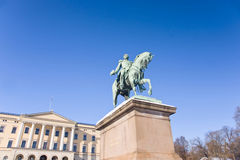 Slottet (Royal Palace), Oslo Royalty Free Stock Photo