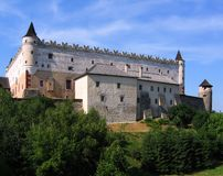 slottet slovakia zvolen Royaltyfri Foto