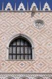 Slottfönster Arkivbild