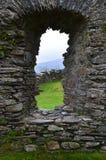 Slottfönster Arkivbilder