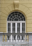 Slottfönster arkivfoto