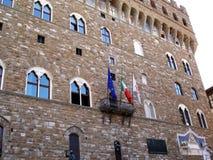 Slottfyrkant i Florence royaltyfria foton