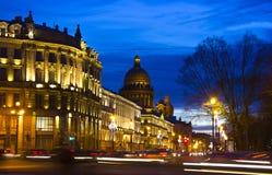 Slottfyrkant, St Petersburg, Ryssland Royaltyfri Foto