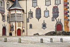 slottgård Arkivfoton