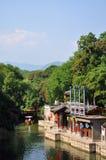 slottgatasommar suzhou Arkivbild
