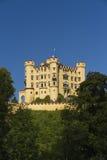 slottgermany hohenschwangau Royaltyfri Fotografi