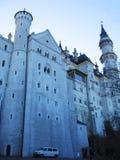 slottgermany neuschwanstein royaltyfri fotografi