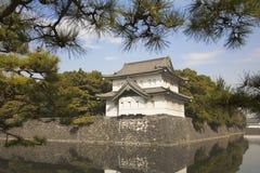 slottgovernmet gammala tokyo Arkivfoto