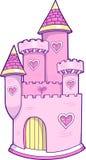 slottillustrationvektor royaltyfri illustrationer