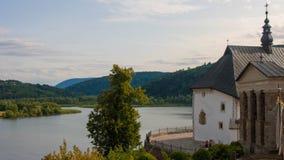 Slottinre och utomhus i Polen Royaltyfri Bild