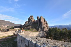 SlottKaleto Bulgarien Arkivbilder