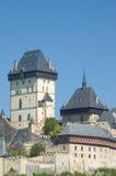 slottkarlstejn Royaltyfri Fotografi