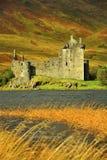 slottkilchurn scotland royaltyfri fotografi