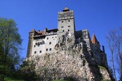 Slottkli (Törzburg) - DRACULA S SLOTT Royaltyfri Bild