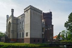 SlottKornik uppehåll av den mest berömda polska spökevitdamen arkivfoton