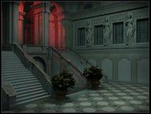 Slottkorridor Royaltyfria Foton