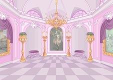 Slottkorridor royaltyfri illustrationer