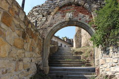 slottkremenec fördärvar ukraine Royaltyfri Bild
