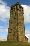 slottkullhuddersfield torn royaltyfri bild