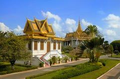 slottkunglig person för 6 cambodia Royaltyfri Fotografi