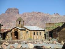 Slottkupol Yuma Arizona Arkivfoto