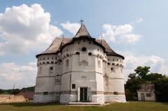 Slottkyrka ukraine royaltyfria foton