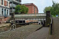 Slottlås i Nottingham stadsmitt arkivfoton